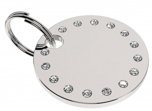 Stainless Steel full of Swarovski Stones white