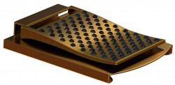Ladymoneyclip gold-black-Stones