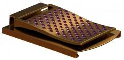 Ladymoneyclip gold-pinky-Stones