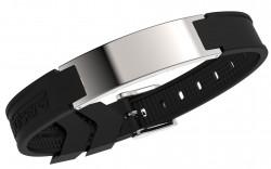 Pulsera Energiearmband Chrome-Grey Style