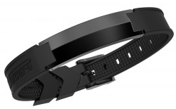 Pulsera Energiearmband Sharp-Black