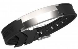 Pulsera Energiearmband Sharp-Chrome